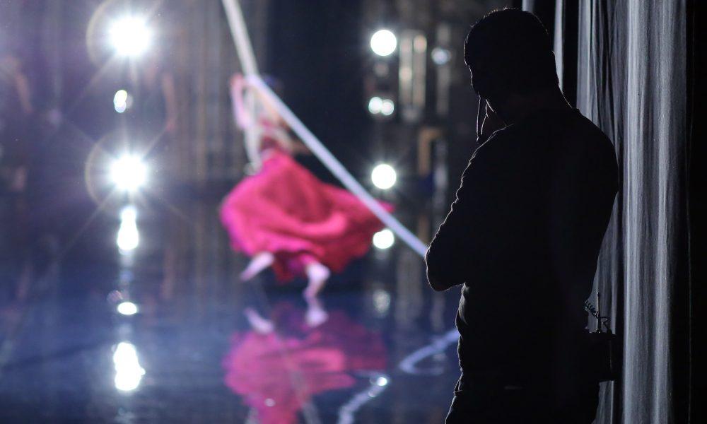 SILENCE(S) a l'initiative de Dominique Dupuy, projet porte par le Theatre National de Chaillot, prise de vues lors de la premiere de Tristan et Isolde du Ballet du Grand Theatre de Geneve, choregraphie Joelle Bouvier au Theatre National de Chaillot le 23 mars 2016. (photo by Patrick Berger)
